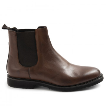 booties man sangiorgio 1065turia marrone 7722