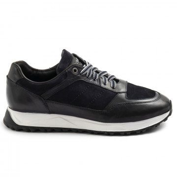 sneakers man calpierre vomeromix oltremare 7729