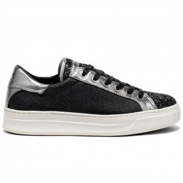 sneakers damen crime london 2580932 dark grey 7727