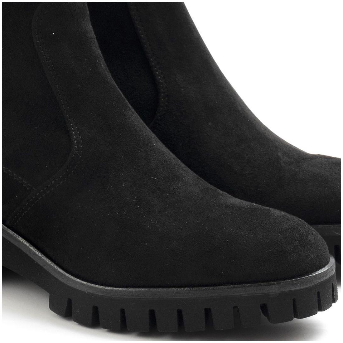 booties woman sangiorgio aritacervo nero 7736