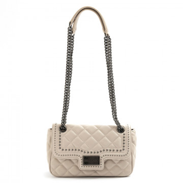 shoulder bags woman ermanno scervino 1100ivy crema 7733