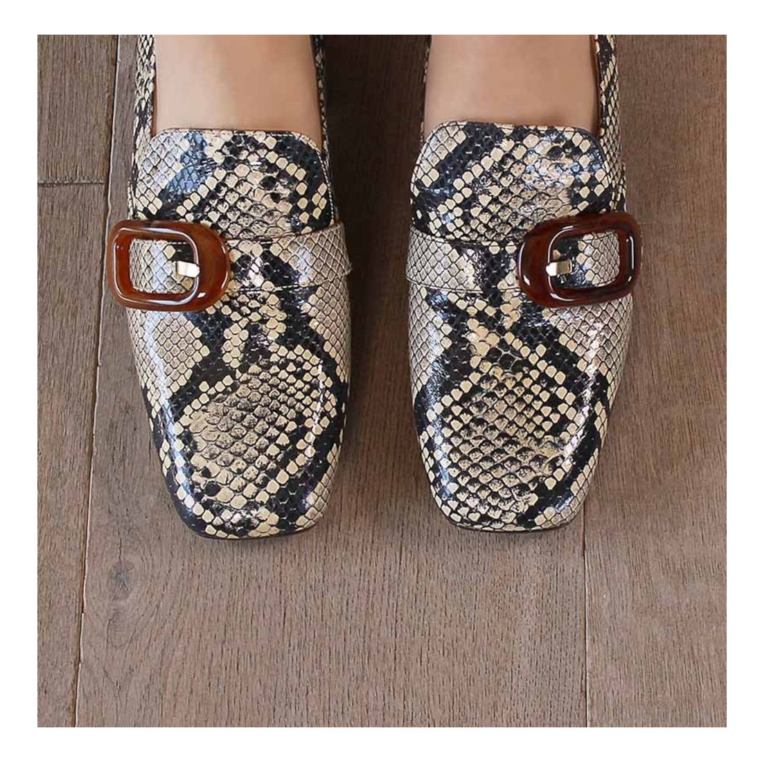 loafers woman chie mihara zazisira beige 7711