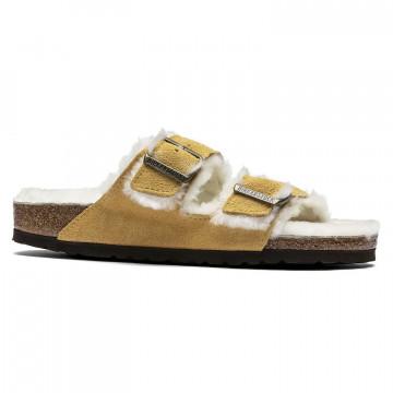 sandalen damen birkenstock arizona shearling1017407 7749
