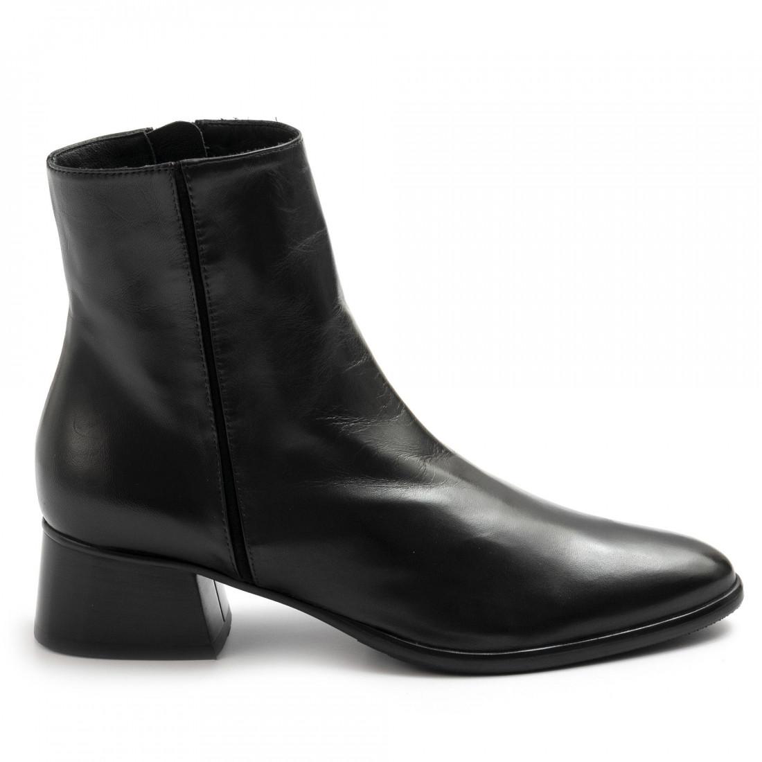 booties woman lorenzo masiero w203954nappa abb nero 7752