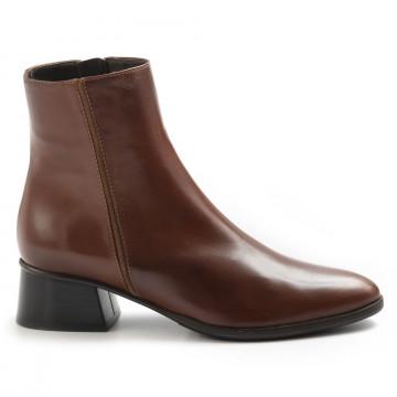 booties woman lorenzo masiero w203954nappa abb cognac 7462