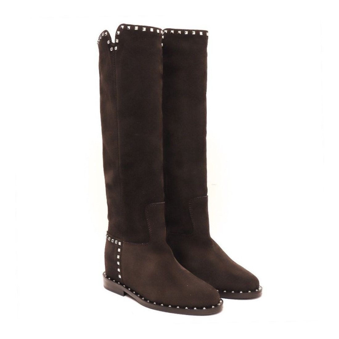 stiefel  boots damen via roma 15 2852velour 7648