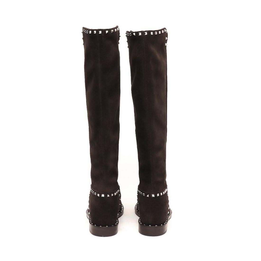 boots woman via roma 15 2852velour 7648