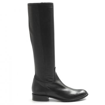 stiefel  boots damen lorenzo masiero ml 004paz nero 7771
