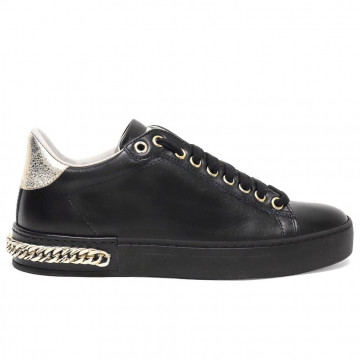 sneakers woman stokton 740dvit nero 7690