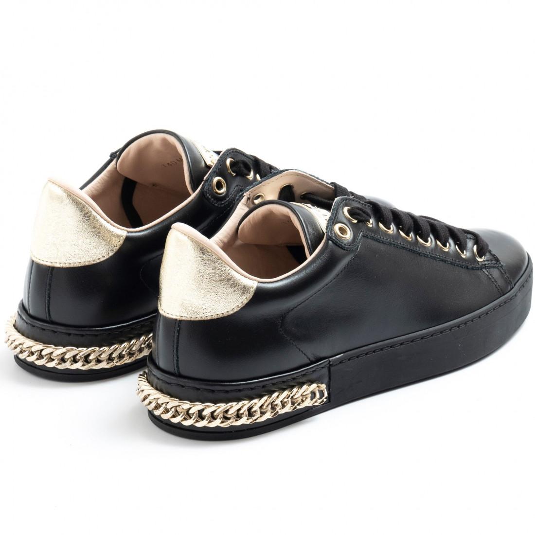 sneakers woman stokton 740dvit nero 7690