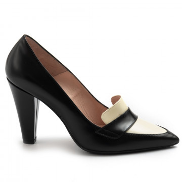 loafers woman anna f 1284spazz nero 7764