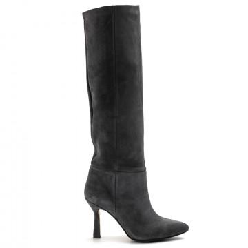 stiefel  boots damen larianna st1242rt1camo grigio 7772