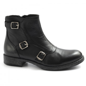 booties woman sangiorgio d416softy nero 7666
