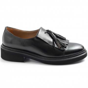 loafers woman calpierre d411spazzolato nero 7699