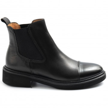 booties woman calpierre dm35spazzolato nero 7707