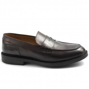 loafers man calpierre bg207luxit choccolate 7793