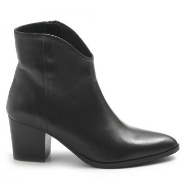 booties woman sangiorgio itaclamousse nero 7798