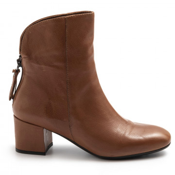 booties woman sangiorgio quengelbaby dress cuoio 7809