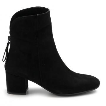 booties woman sangiorgio quengelcamoscio nero 7810