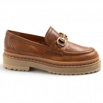 loafers woman alfredo giantin 6846rustic cuoio 7815