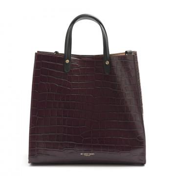 handtaschen damen my best bags myb6028bordeaux 7836