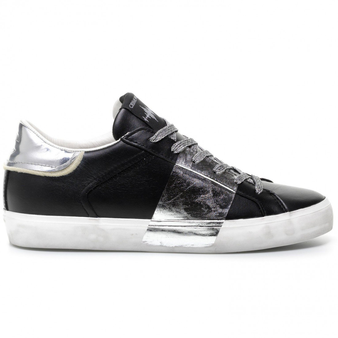 sneakers woman crime london 2500620 black 7839