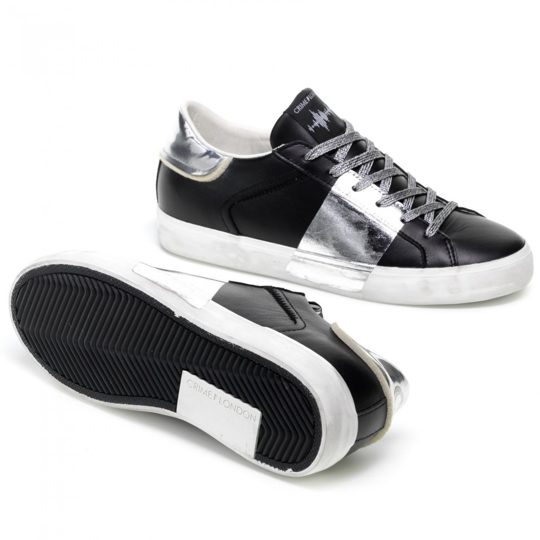 sneakers damen crime london 2500620 black 7839