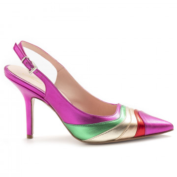 pumps woman anna f 1240camoscio fuxia 6842