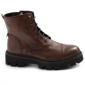 military boots woman sangiorgio d506softy cuoio 7723