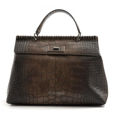 handtaschen damen ermanno scervino 1063iona cuoio brown 7532