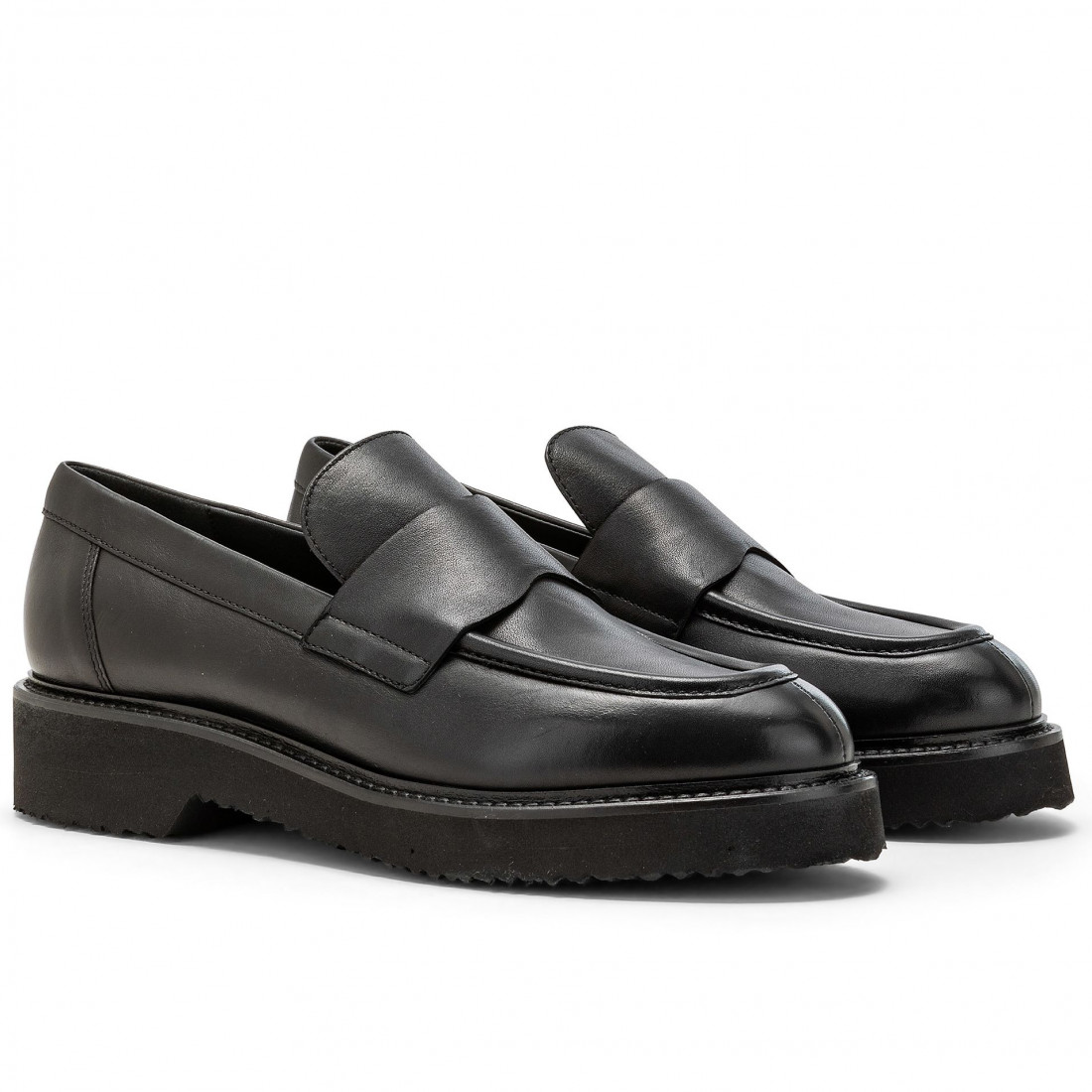 loafers woman carmens a46069nero 7842