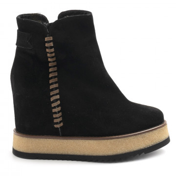 booties woman belle vie via speri363 sensory nero 7847