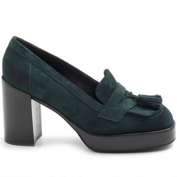 loafers woman lella baldi lt181peach silvestre 7850