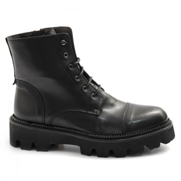 military boots woman sangiorgio d507softy nero 7861