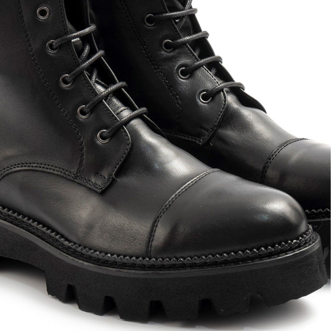 military boots woman sangiorgio d507softy nero 7861