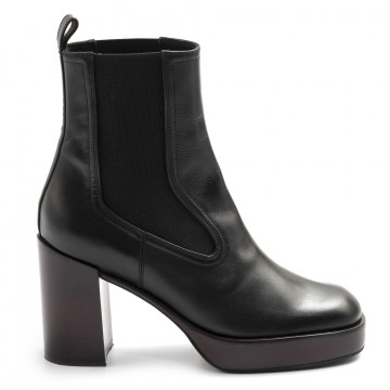 booties woman lella baldi lt153vitello chantal 7865