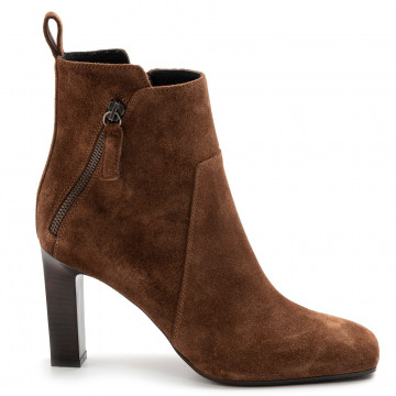 booties woman lella baldi lt143peach castagna 7869