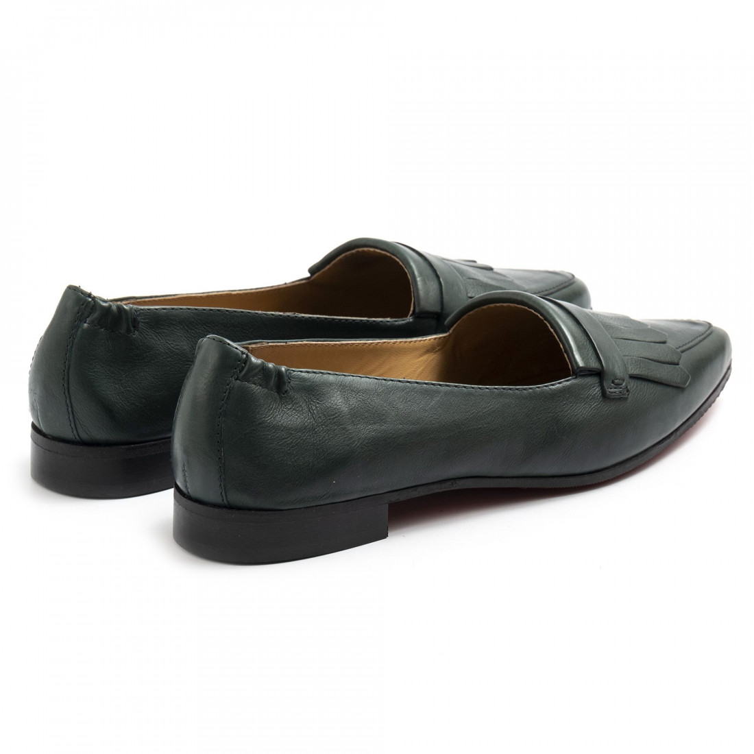 loafers woman sangiorgio serellababy dress verde 7776