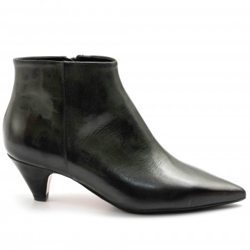 booties woman anna f 9645moka verde 7876