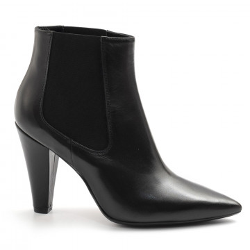 booties woman anna f 9658nappa nero 7878