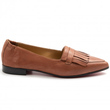 loafers woman sangiorgio serellababy dress cuoio 7873