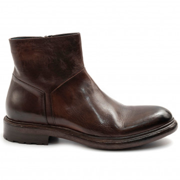 booties man barrows 484vacchetta marrone 7879