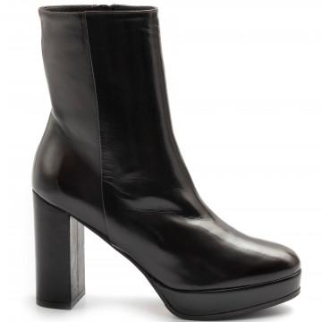 booties woman lorenzo masiero w2131002testa di moro 7903