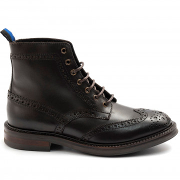 lace up ankle boots man marco ferretti 171392mfdevon caffe hackney 7907