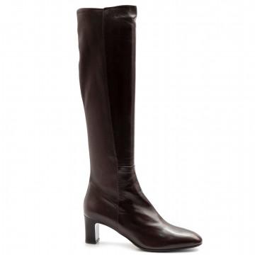 stiefel  boots damen lorenzo masiero w205920testa di moro 7921