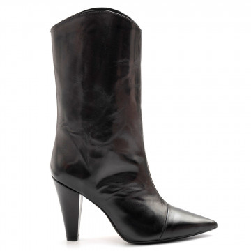 booties woman anna f 9825moka antracite 7925