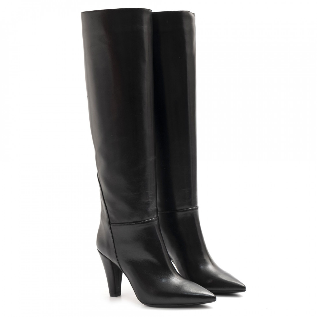 boots woman anna f 9821nappa nero 7926