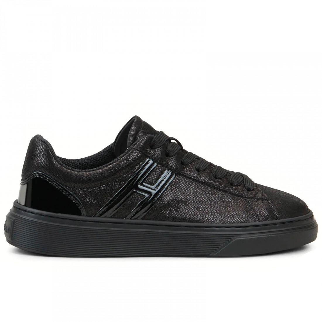 Women's Hogan H365 sneakers in black leather