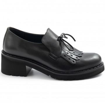 loafers woman calpierre d429bufalis nero 7659