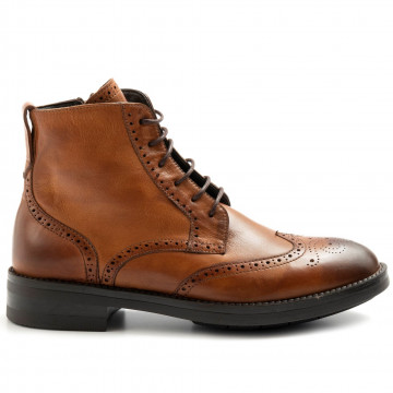 lace up woman brecos 9714sierra siena 7971